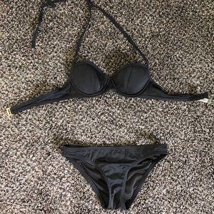 Victoria's Secret two piece black bikini